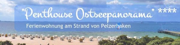Ferienwohnung mit Ostseepanorama