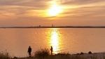 Der Herbst malt sich die Ostsee in eigenen Farben
